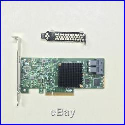 LSI 9311-8i SAS3008-8I 12 gbit/s 8 ports HBA PCI-E 3.0 SATA contrôleur RAID SAS