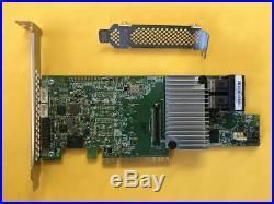 LSI 9361-8i 1GB SAS SATA 8-port PCI-E 12Gb RAID Controller Card + CVM02 BBU