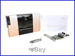 LSI 9361-8i 2GB Cache SATA SAS 12Gb PCI-E Raid Controller New Condition