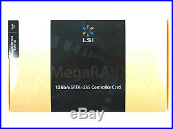 LSI 9361-8i P/N LSI00417 MegaRAID PCI-Express 3.0 x8 SATA SAS RAID Controller