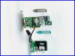 LSI 9361-8i SAS SATA 1GB PCI-E 12Gb RAID Card +CVM02 1GB Bracket Bare + BBU US