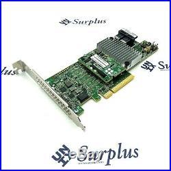 LSI 9361-8i SAS SATA PCI-E 12Gb PCIe x8 RAID Controller 1GB CacheVault with Cables