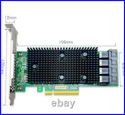 LSI 9400-16i RAID CARD SATA/SAS HBA Controller 12Gbps 16 Ports PCIE 3.1