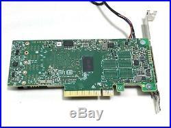 LSI 9460-8i MegaRAID 2GB 12Gb/s SAS/SATA/PCIe/NVMe Tri-Mode SAS Raid Key Battery
