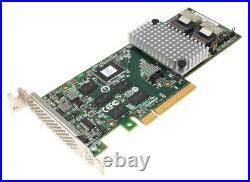 LSI 9750-8i SAS/SATA RAID Controller // Low Profile // PCIe x8 // 6 Gb/s