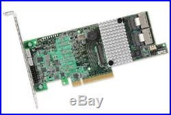 LSI Logic 9271-8I Eight-Port 6Gb/s PCI Express 3.0 SATA+SAS RAID Controller