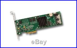 LSI Logic SAS 8708ELP / LSI00141 3Gbps PCIe SAS/SATA Raid Controller New Retail
