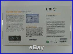 LSI MEGARAID 9271-8i LSI00330 6Gb/s 1GB 8-Port PCIe 3.0 x8 RAID SATA/SAS