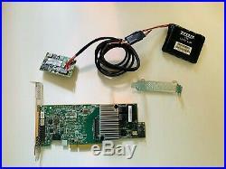 LSI MR 9361-8i SAS SATA 12Gb/s PCIe 3.0 RAID Controller+ 1GB CacheVault LSI00418