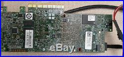 LSI MR 9361-8i SAS SATA 12Gb/s PCIe3.0 RAID Controller 1GB(Dell MM445) + Battery
