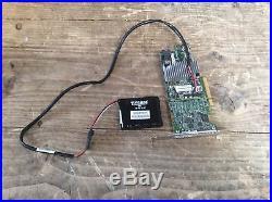 LSI MegaRAID 12Gb/s PCI Express SAS+SATA Battery-RAID-Controller MR SAS 9361-4i