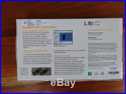 LSI MegaRAID 9240-8i 8-Port SAS/SATA 6Gb/s PCIE RAID MRSAS9240-8I/SGL LS00200