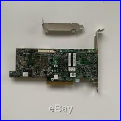 LSI MegaRAID 9266-8i PCI-E 6G SAS SATA RAID Card 6Gbps +2PCS 8087 SATA