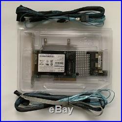LSI MegaRAID 9266-8i PCI-E 6G SAS SATA RAID Card 6Gbps + BBU09 + 2PCS 8087 SATA