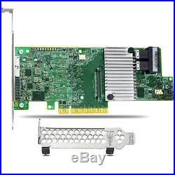 LSI MegaRAID 9361-8i 1GB RAID PCI-E Controller 12gb/s SAS/SATA + LSICVM02
