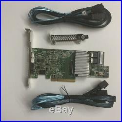LSI MegaRAID 9361-8i RAID Controller 12gb/s PCI-E LSI 3108 +2X 8643 to SATA cabe
