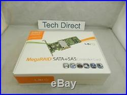 LSI MegaRAID LSI00329 9271-4i PCI-Express 3.0 x8 SATA/SAS RAID Controller Kit ZZ