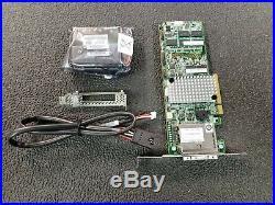 LSI MegaRAID LSI00333 (9286CV-8e) PCI-Express 3.0 x8 Low Profile SATA / SAS RAID
