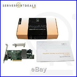 LSI MegaRAID LSI004 19361-4i 4-Port 12G SAS+SATA PCIe 3.0LP RAID Controller Card