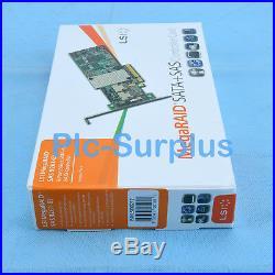 LSI MegaRAID SAS 2108-8i SATA 9261-8i 8-port PCI-E 6Gb/s RAID Controller Card
