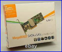 LSI MegaRAID SAS 9260-16i 16 Port 6Gb/s SATA SAS RAID x4 SAS SFF-8087 connectors