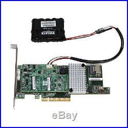 LSI MegaRAID SAS 9271-4i 4-Port 6Gb/s 1GB PCI-E 3.0 SATA+SAS RAID Controller