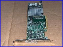 LSI MegaRAID SAS 9271-8iCC 8-port 6Gb/s PCIe 3.0 x8 SATA+SAS RAID Controller