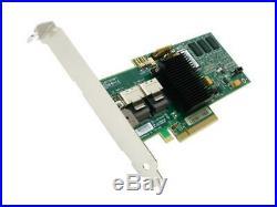 LSI MegaRAID SATA/SAS 8708EM2 3Gb/s PCI-Express with 256MB onboard memory RAID Con