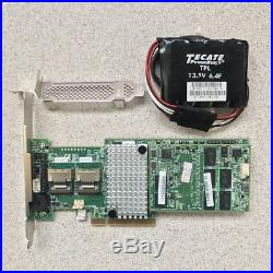 LSI MegaRaid 9270CV-8i 1GB Cache SAS SATA RAID PCIe 3.0 6Gbps with Battery