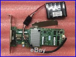 LSI MegaRaid 9270CV-8i 1GB Cache SAS/SATA RAID PCIe 3.0 RAID Controll + Battery