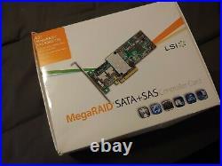 LSI MegaRaid MR 9260-16i SAS SATA 6Gb/s PCIe x8 16-Port RAID Controller