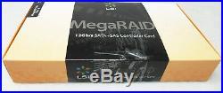 LSI MegaRaid MR 9361-8i 12Gbps SAS SATA 1GB Cache PCIe 3.0 RAID Controller