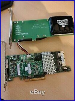 LSI MegaRaid SAS 9271-8i SAS / SATA RAID Controller PCIe + BBU