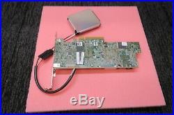 LSI MegaRaid SAS 9361-8i 1GB LP PCIe-x8 12Gbps SAS RAID Controller + Battery