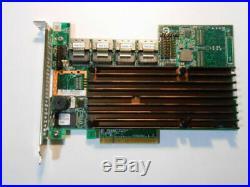 LSI Megaraid 9260-16i SAS SATA 6Gb/s PCIe x8 16-Port RAID Controller Card