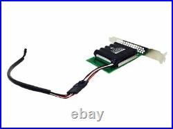 LSI Megaraid 9361-8i 1GB PCIe x8 RAID Card 12Gbps CVM02 +BBU 2x Sata Breakouts