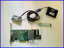LSI Megaraid 9361-8i SATA SAS RAID Controller 12G 1GB PCIe x8 3.0 +CVM02 BBU09