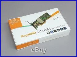 LSI Megaraid SAS 9260-8i SATA / SAS 512MB Controller RAID 5 6G PCIe x8 2.0 NEU