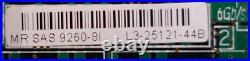 LSI Megaraid SAS 9260-8i SATA / SAS Controller RAID PCIe x8 mit SATA Kabeln