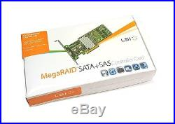 LSI Megaraid SAS 9266-8i SATA / SAS 1GB Controller RAID 5 6G PCIe x8 2.0 NEU