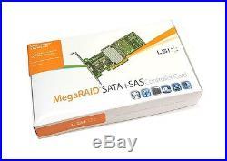 LSI Megaraid SAS 9271-8i SATA / SAS 1GB Controller RAID 5 6G PCIe x8 3.0 NEU