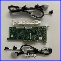 LSI SAS 9207-8i SATA 6Gb/s PCI-E Host Bus Adapter LSI00301 Raid Card 2PCS 8087