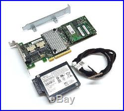 LSI SAS 9265-8i SATA / SAS 1GB Controller RAID 5 6G PCIe x8 + BBU09 Battery