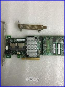 LSI SAS 9265-8i SATA SAS 1GB Controller RAID PCIe x8 +BAT1S1P-A BBU09 Battery