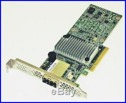 LSI SAS 9380-8e LSI00438 05-25528-04 12Gb/s 8-Port SAS/SATA PCIe x8 Ext RAID HBA