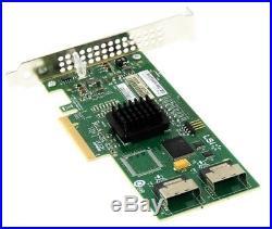 LSI SAS3081E-R SAS/SATA 3GB/S RAID CONTROLLER PCIe