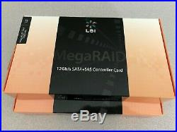 LSI SAS9380-8e (LSI00438) 12Gb/s SAS/SATA PCIe x8 8-Port Ext. RAID HBA