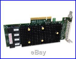 LSI Tri-Mode 12GB 16-Port SAS SATA NVME 9400-16i PCIe 3.1 JBOD RAID Controller
