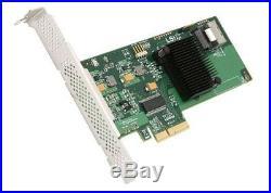 LSI00190 SAS9211-4i 4-Port Low-Profile PCI-E SAS/SATA Controller HBA with RAID 0,1