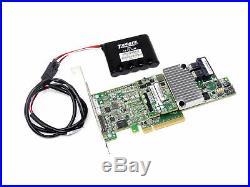 LSI00462 LSI MR 9361-8i 12Gbps SAS SATA 1GB Cache PCIe 3.0 RAID Controller